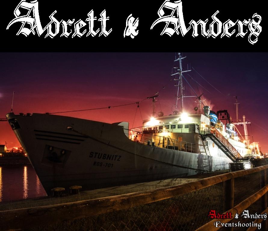 Adrett und Anders - die perfekte Party auf dem Schiff